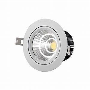 Petite Led Encastrable : spot led blanc encastrable 7w 230v ~ Edinachiropracticcenter.com Idées de Décoration