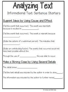 text citation sentence starters
