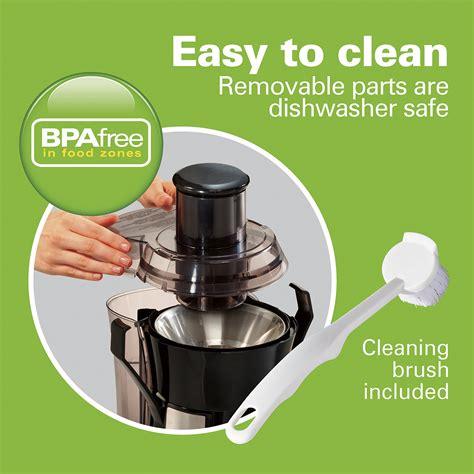 juicer clean easy watt comparison models bpa hamilton electric beach feedback question ask