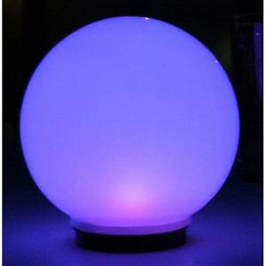 Smart solar quot programmable magic globe  outdoor lighting at sportsman s guide