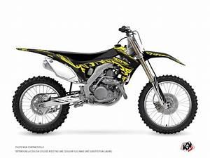 honda 450 crf dirt bike eraser fluo graphic kit yellow With honda 150 dirt bike