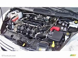 2012 Ford Fiesta Se Sedan 1 6 Liter Dohc 16