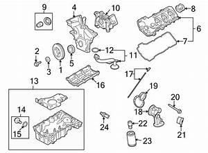 Ford Edge Engine Intake Manifold  Lower  Liter
