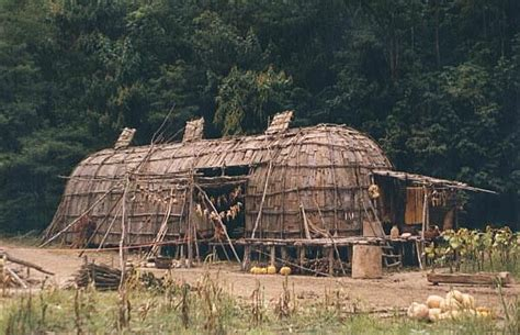 This Longhouse Style Was Utilized Among Many Northeastern