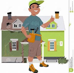 Renovate A House Stock Vector Illustration Of Person