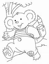 Koala Coloring Pages Printable Cute Colouring Koalas Bear Sheets Baby Bestcoloringpagesforkids Rush Going Books Children sketch template