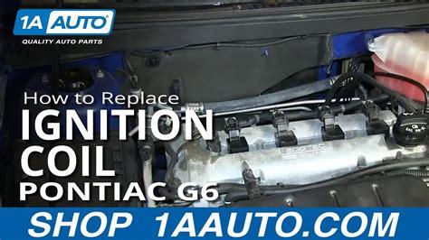 replace ignition coil   pontiac   auto