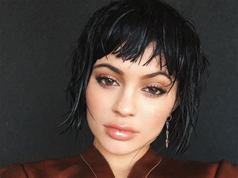 Kylie Jenner's Bob In 'marie Claire'