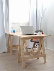 Construire Un Bureau : diy meuble 34 meubles fabriquer soi m me pour votre int rieur ~ Melissatoandfro.com Idées de Décoration