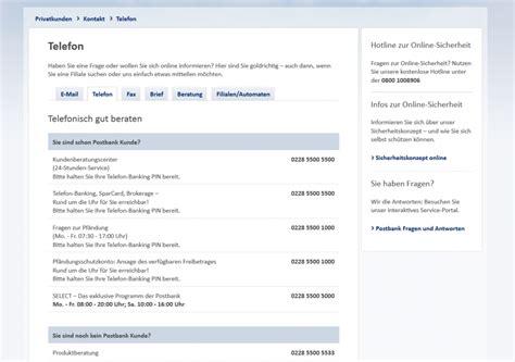 postbank baufinanzierung erfahrungen postbank erfahrungen werbemittel der postbank with