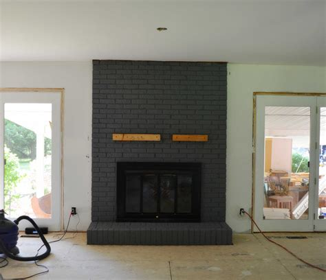 Some Options Of Contemporary Brick Fireplace Makeover