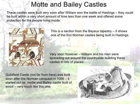 year  ruling castles  domesday