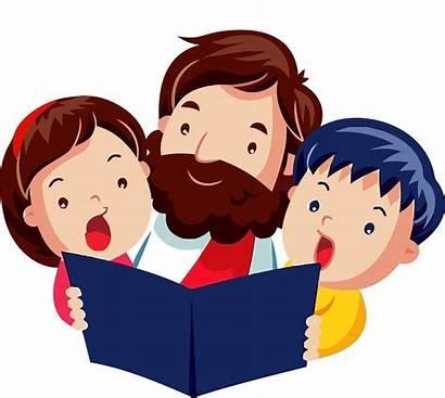 Jesus Clipart Bible Children Child God Cartoon