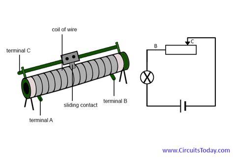 rheostat wiring diagram rheostat working construction types uses