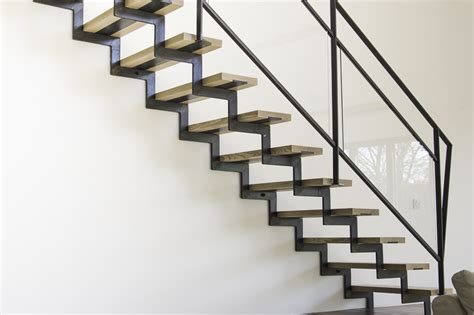 escalier bois et acier photos de conception de maison agaroth