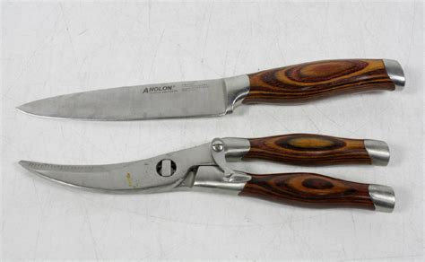 anolon kitchen knives anolon cutlery kitchen knife and cutting shears ebay