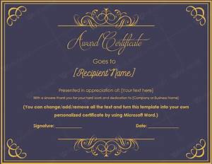 10 Best Award Certificate Templates For 2016