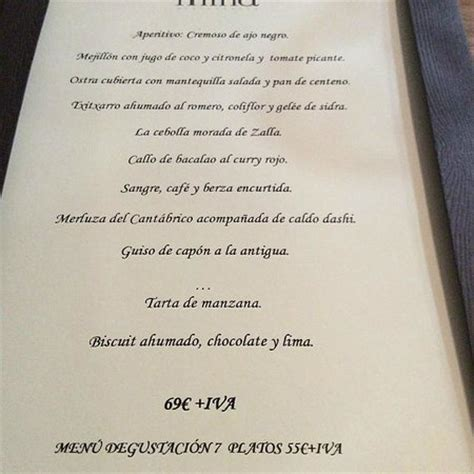mina cuisine mina restaurant bilbao bilbo zaharra restaurant