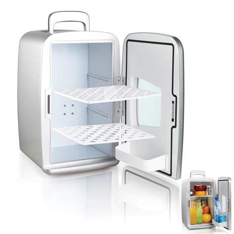 mini frigo réfrigérateur 14l portable argent achat