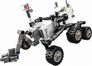 21104: NASA Mars Science Laboratory Curiosity Rover | Lego ...