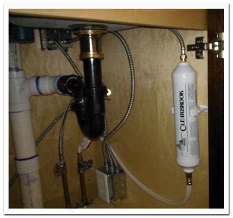 clearbrook   counter bathroom sink water filter