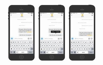 Instagram Unsend Messages Message Direct Wersm Tap