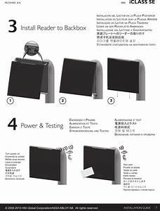 Hid Global Iclassr90e Iclass Se R90 Reader User Manual