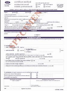 Sortie Autorisée Arret Maladie : certificat m dical d arr t de travail at mp nouveau cerfa le blog de prevantis ~ Medecine-chirurgie-esthetiques.com Avis de Voitures