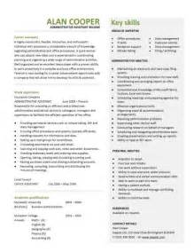administrative assistant resume skills profile exles free sle resume templates best format exles objectives basic creative builder cv