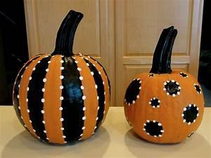 BirshyKat: Pretty Painted Pumpkins!