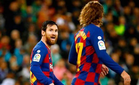 Griezmann vive un infierno por la dictadura de Messi