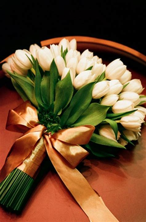 white tulip wedding ideas  spring weddings page