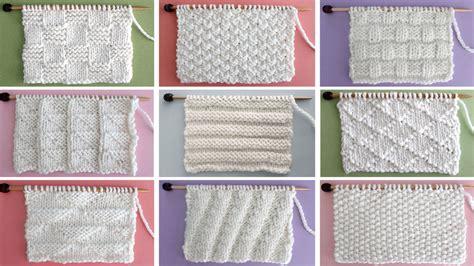 knit stitch patterns archives studio knit