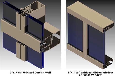 admiral glass company agc ucw unitized glazed wall