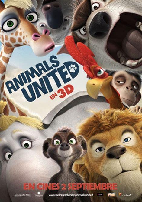 cine infantil en  animals united pequeocio