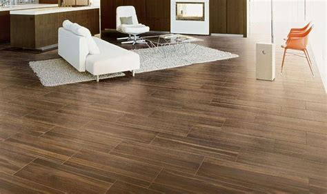 Fliesen Holzoptik Wohnzimmer by Wood Look Tile For Contemporary Living Room Design