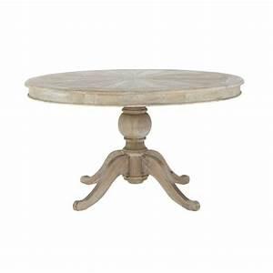 Table Ronde 140 Cm : table ronde de salle manger en bois d 140 cm neuilly maisons du monde ~ Teatrodelosmanantiales.com Idées de Décoration