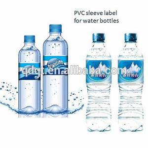 customized plastic mineral water bottle label buy water With custom plastic water bottle labels