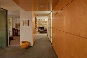 wood-paneling-for-walls-Entry-Contemporary-with-built-in