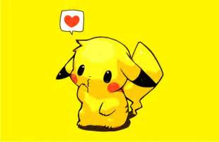 Pokemon Pikachu Love