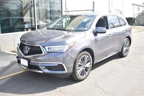 certified pre owned  acura mdx sh awd sport utility