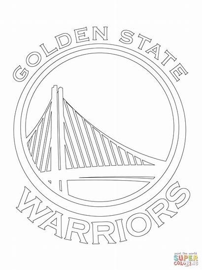 Coloring Pages Lakers Printable Warriors Getcolorings State