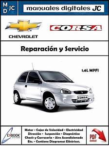 Manual Taller Y Diagramas Chevrolet Corsa 1 6 Mpfi Espa U00f1ol