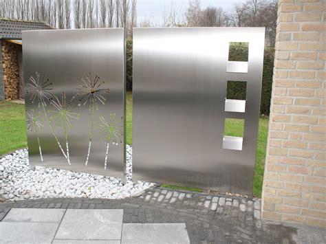 Garten Sichtschutz Edelstahl by Sichtschutz Edelstahl Sichtschutz Simple Sichtschutz