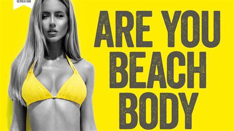 Protein World's 'are You Beach Body Ready?' Ads Spark