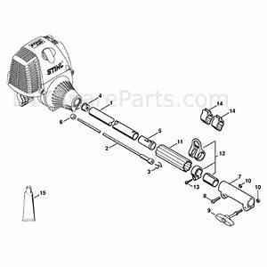 Stihl Km 90 R Engine  Km 90 R  Parts Diagram  Drive Tube