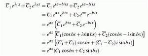Nullstellen Berechnen Komplexe Zahlen : lineare differenzialgleichungen mit konstanten koeffizienten ~ Themetempest.com Abrechnung