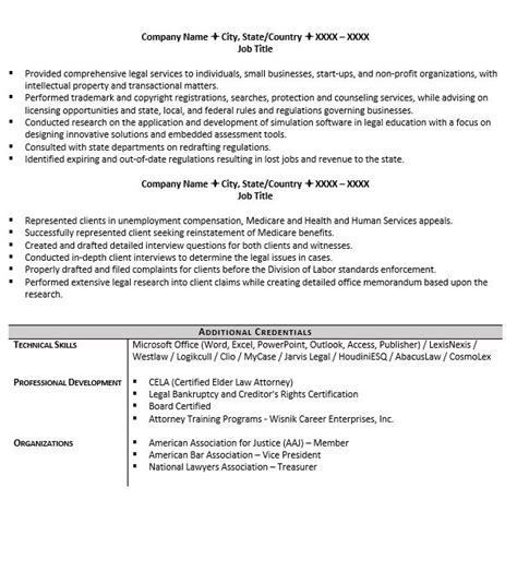 Attorney Resumes by Entry Level Attorney Resume Exle And 5 Tips For Writing