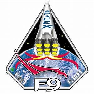 SpaceX Falcon 1 and Falcon 9 flight patches - collectSPACE ...