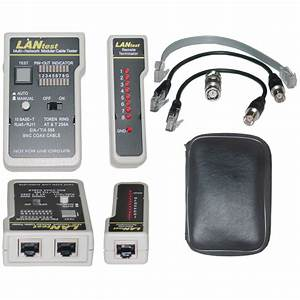 Lan Tester Network Cable Tester  Pin Configuration  Wire Map